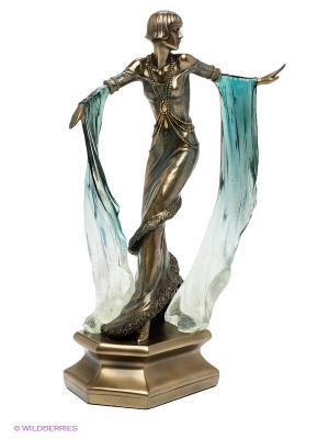 Статуэтка Леди Veronese. Цвет: бронзовый, зеленый