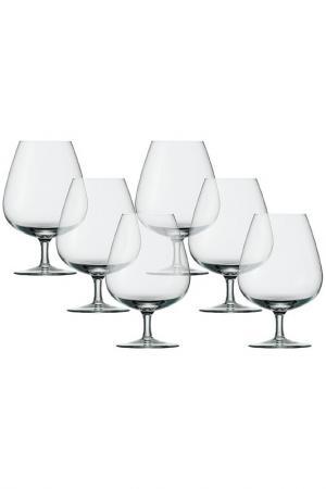 Набор: 6 бокалов для коньяка Stolzle. Цвет: мультицвет