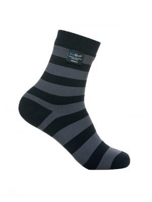 Водонепроницаемые носки DexShell Ultralite Bamboo Sock. Цвет: серый, черный