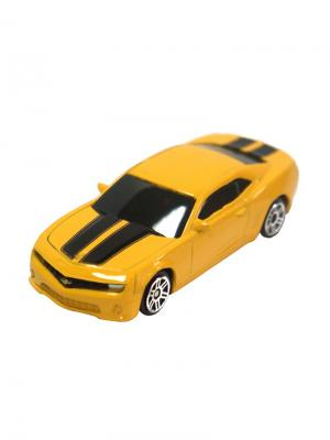 Машинка Chevrolet Camaro, Желтая (1:64) (PS-344004S-Y) Pit Stop. Цвет: желтый
