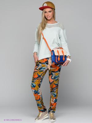 Брюки Element. Цвет: синий, оранжевый, горчичный, белый