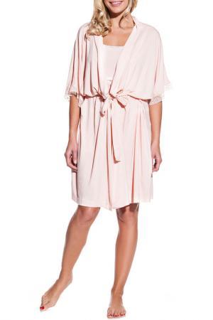 Пижама Luisa Moretti. Цвет: оранжевый