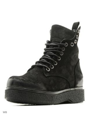 Ботинки MILANA. Цвет: черный