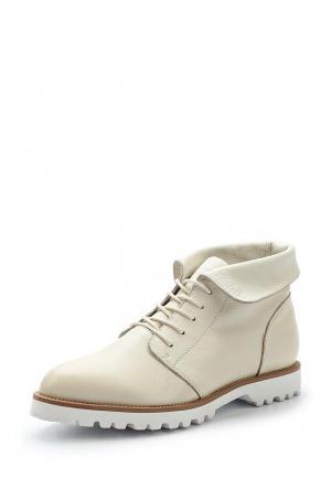Ботинки Evita. Цвет: бежевый