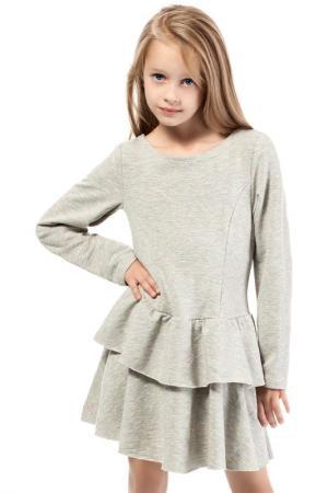 Платье KIDIN. Цвет: серый