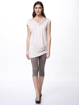 Комплект одежды RELAX MODE. Цвет: кремовый