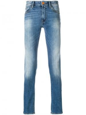 Прямые джинсы Pt05. Цвет: синий
