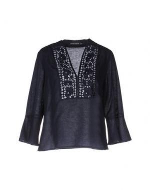 Блузка ANTIK BATIK. Цвет: темно-синий