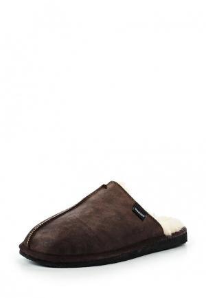 Тапочки Shepherd. Цвет: коричневый