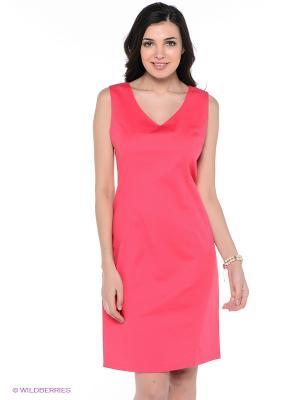 Платье ФЭСТ. Цвет: розовый
