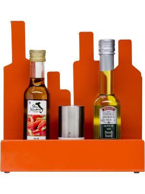 Стойка для хранения специй Sagaform. Цвет: оранжевый