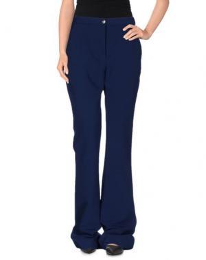 Повседневные брюки CARVEN. Цвет: темно-синий