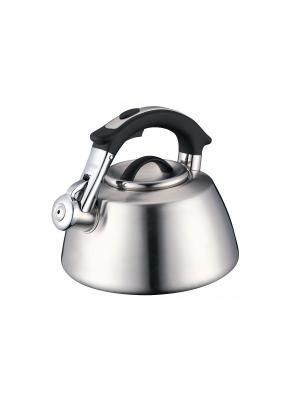 Чайник нерж. сталь (газ/электро) 3,5 л Peterhof. Цвет: серебристый, черный