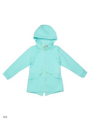 Куртка DUWALI. Цвет: бирюзовый