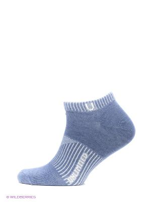 Носки спортивные 5 пар Unlimited. Цвет: синий