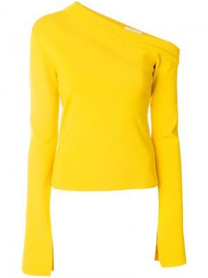 Топ Mariette Solace. Цвет: жёлтый и оранжевый
