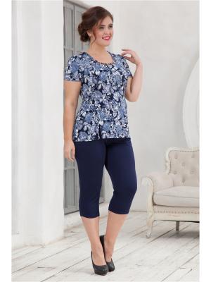 Комплект одежды CLEO. Цвет: синий, голубой