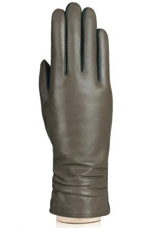 Перчатки Labbra. Цвет: серо-коричневый, зеленый