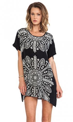Мини платье tiffany Tolani. Цвет: черный