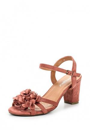 Босоножки Coco Perla. Цвет: розовый