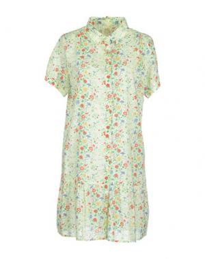 Короткое платье ATTIC AND BARN. Цвет: светло-зеленый