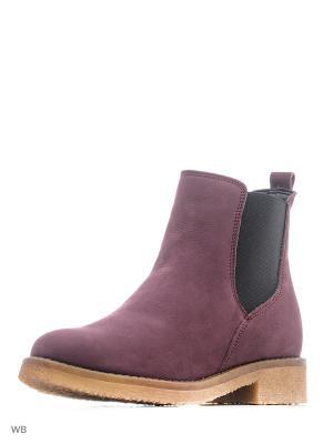 Ботинки aeros me. Цвет: фиолетовый