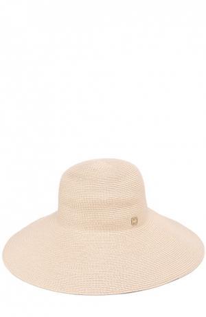 Шляпа с широкими полями Eric Javits. Цвет: кремовый
