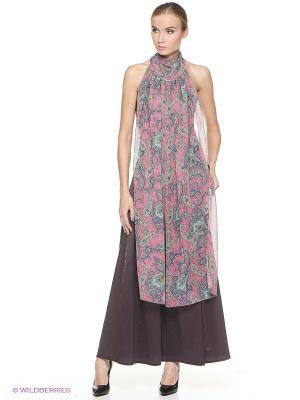 Платье ADZHEDO. Цвет: бордовый, розовый