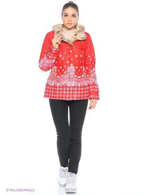 Куртка Stayer. Цвет: белый, красный, золотистый