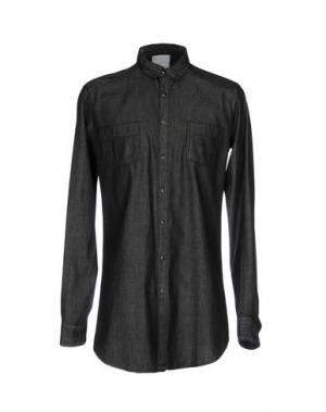 Джинсовая рубашка CHOICE NICOLA PELINGA. Цвет: черный