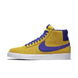 Мужская обувь для скейтбординга  SB Blazer Mid Nike. Цвет: желтый