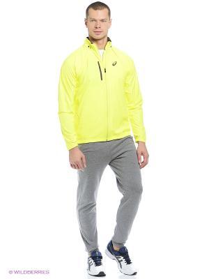 Куртка CONVERTIBLE JACKET ASICS. Цвет: желтый