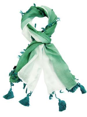 Платок Passigatti. Цвет: темно-зеленый