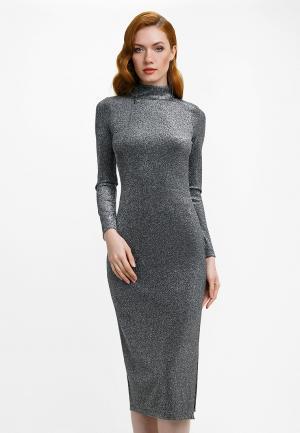 Платье Audrey Right. Цвет: серебряный