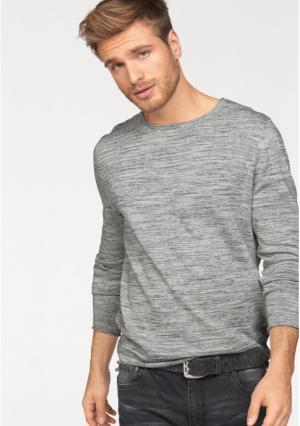Пуловер JOHN DEVIN. Цвет: белый меланжевый
