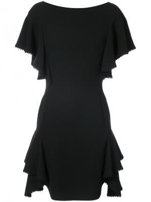 Платье со свободными рукавами J. Mendel. Цвет: чёрный