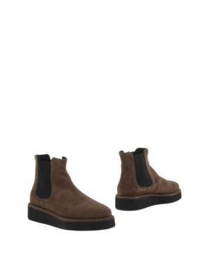 Полусапоги и высокие ботинки FIORINA. Цвет: коричневый