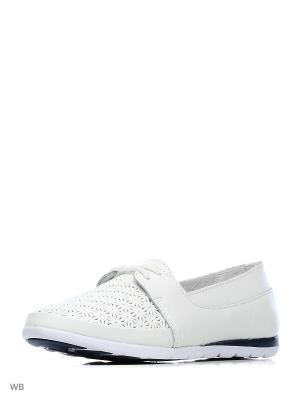 Туфли ЭГО. Цвет: белый