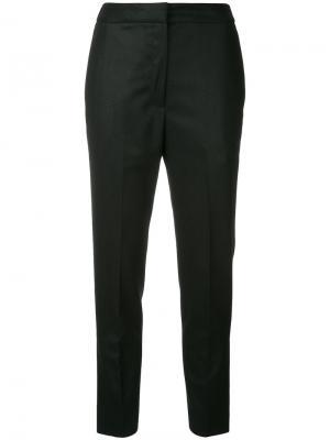 Укороченные брюки H Beauty&Youth. Цвет: чёрный