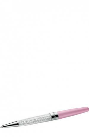 Шариковая ручка Crystalline Stardust Swarovski. Цвет: розовый