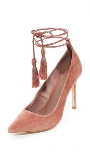 Туфли-лодочки Angelynn с ремешком на щиколотке Joie. Цвет: винтажный розовый