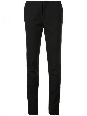 Классические приталенные брюки Georgia Alice. Цвет: чёрный