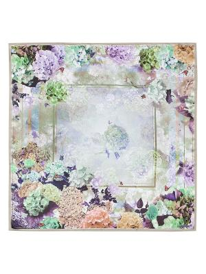 Платок Eleganzza. Цвет: зеленый, бежевый, светло-серый, сиреневый, хаки