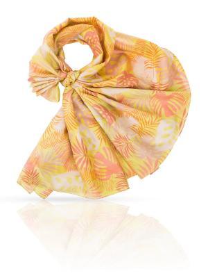 Палантин MICHEL KATANA`. Цвет: лиловый, коралловый, светло-оранжевый