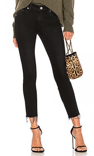 Укороченные джинсы stix AMO. Цвет: none