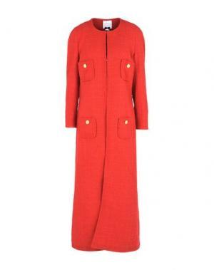 Пальто EDWARD ACHOUR. Цвет: красный