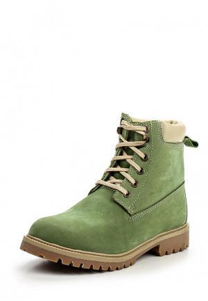 Ботинки Woodland. Цвет: зеленый
