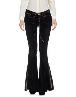 Повседневные брюки ONE x ONETEASPOON. Цвет: черный