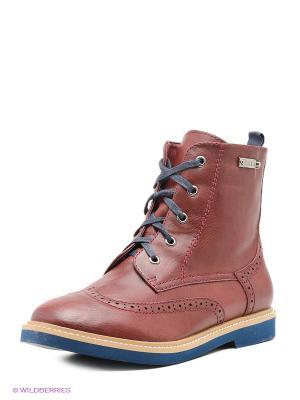 Ботинки Betsy. Цвет: бордовый, синий