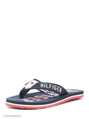 Пантолеты Tommy Hilfiger. Цвет: темно-синий